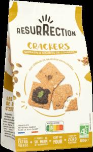 Crackers Sarrasin et Graines de Courges - 100g