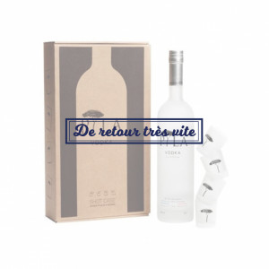 COFFRET VODKA PYLA 70CL + SHOOTERS 5CL