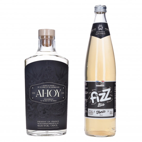 Gin Ahoy et Fizz tonic