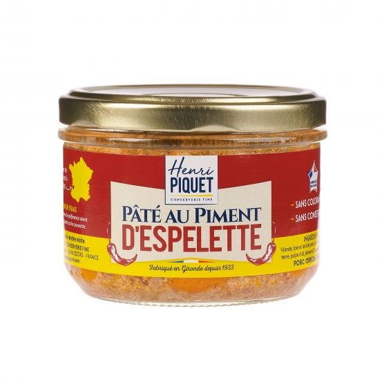 Pâté au piment d'Espelette