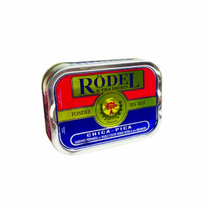 SARDINES CHICA-PICA (huile d'olive vierge extra & aromates)