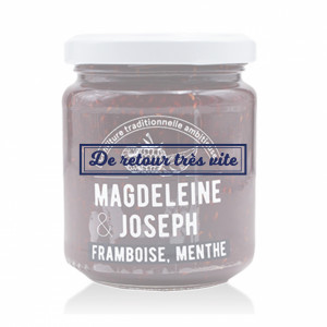 CONFITURE FRAMBOISE-MENTHE