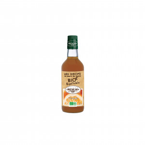 SIROP AU SUCRE DE CANNE BIO EQUITABLE ORANGE 50CL